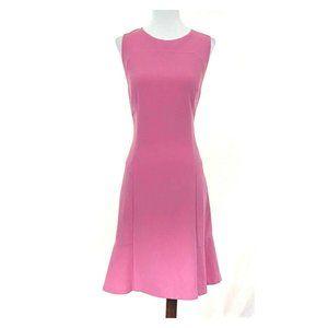 White House Black Market Rose Pink Flare Dress